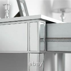 Table En Miroir De Vanité De Maquillage Avec 2 Tiroirs Dressing Table Desk Bedroom Mirror