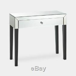 Table Mirrored Tiroir Moderne Coiffeuse Meubles Makeup Vanity Bureau Chambre