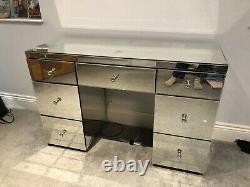 Table/bureau En Miroir De Dressing De Chambre À Coucher