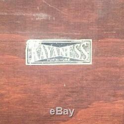 Vintage 1930 Kayaness Art Deco De's / 40 Cloud La Forme Coiffeuse Miroir